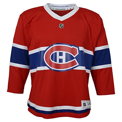Outerstuff Toddler NHL Replica Jersey-Home Montreal Canadiens, Red, Infant One Size(12-24M)