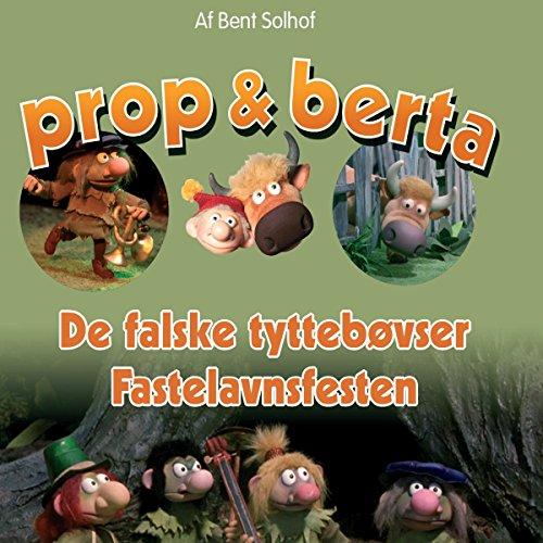 De falske Tyttebøvser / Fastelavnsfesten cover art