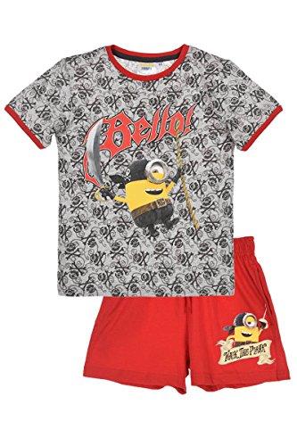 Minion T-Shirt und kurze Hose Set (116, Rot)