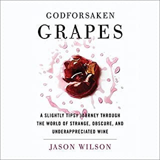 Godforsaken Grapes audiobook cover art