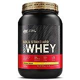 Optimum Nutrition ON Gold Standard 100% Whey Proteína en Polvo, Glutamina y Aminoácidos Naturales, BCAA, Crema de Plátano, 30 Porciones, 900g, Embalaje Puede Variar
