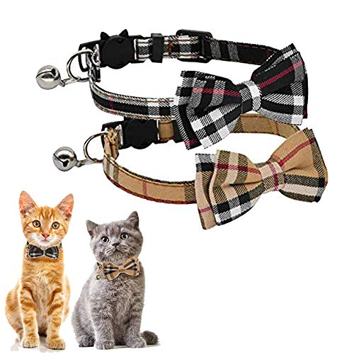 Kingkindsun Sicherheitsschnalle Katzenhalsband,Katzenhalsband mit...