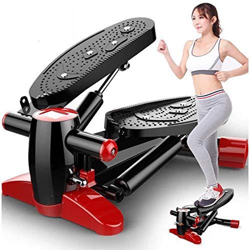 QIMDFDT Side Step 2in1 Fitness Stepper mit Gummizug