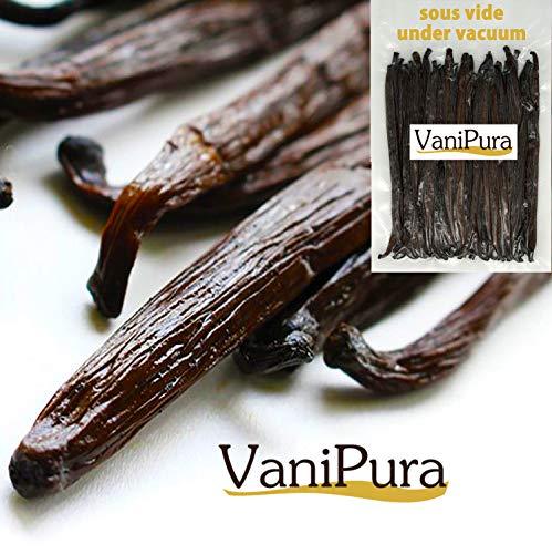Gousses de Vanille Tahitensis (10 gousses de 14 à 15 cm pour 30gr)