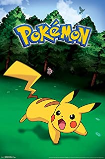 Trends International Pokemon Pikachu Catch Wall Poster 22.375