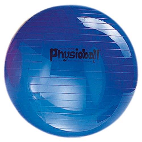 PEZZI Gymnastikball Sitzball Yogaball Bürostuhl Büroball Fitnessball 85 cm BLAU