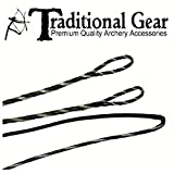 Flemish - Fast Flight Plus - Replacement RECURVE Bowstring - Bow String - Actual String Length - by Traditional Gear Archery Products (Multiple Sizes) (44')