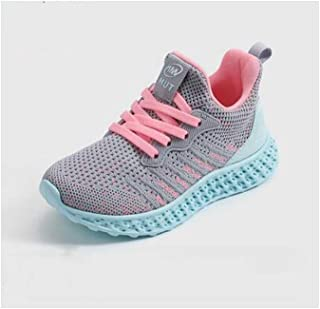 SF Shepherd Girls Shoes, Autumn Mesh Breathable Sneakers, Boys Net Shoes in The Big Children Running Shoes Winter