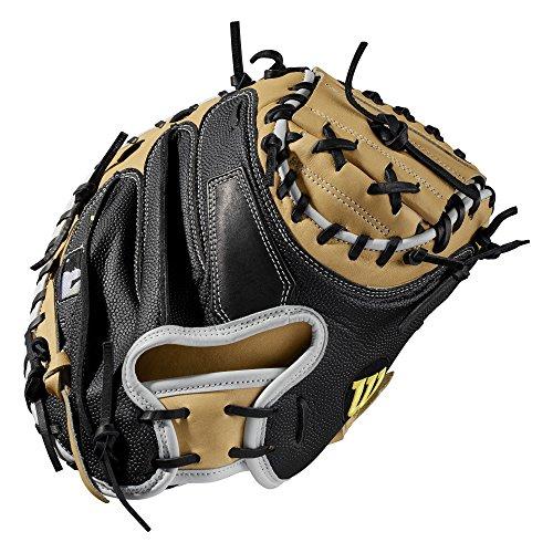 Wilson A2000 33.5-Inch SuperSkin Baseball Glove, Blonde/White/Black, Left (Right Hand Throw)