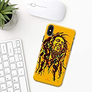 Bob Marley iPhone Hülle XR 11 X XS MAX Pro 8 7 Plus 6 6s 5 5s SE 2020 10 Plastik Silikon Apple iPhone phone case Jamaika…