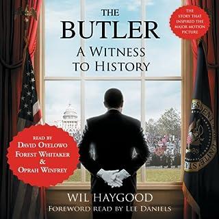 The Butler audiobook cover art