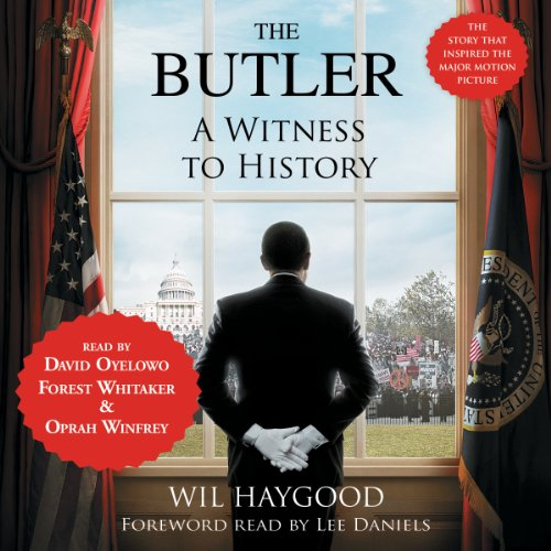 The Butler audiobook cover art