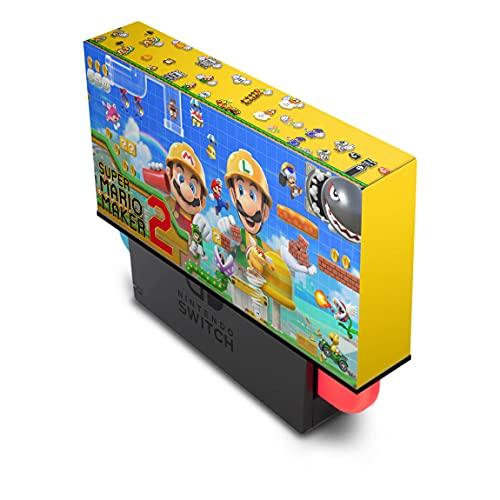 Capa Anti Poeira Nintendo Switch - Super Mario Maker 2