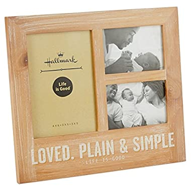 Hallmark Life is Good 3-Photo Picture Frame
