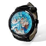 Anime Dragon Ball Saiyan Sun Wukong LED Reloj impermeable...