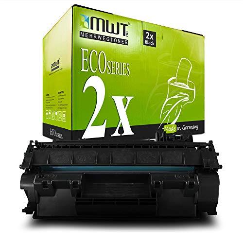 2X MWT Toner für Canon I-Sensys Fax L 380 390 S ersetzt 7833A002 Cartridge T Black 8955A001