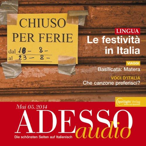 ADESSO Audio - Le festività in Italia. 5/2014 Titelbild