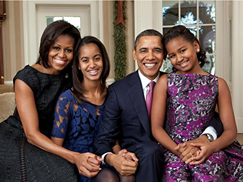 ConversationPrints Obama Family Glossy Poster Picture Photo President Barack White House Decor