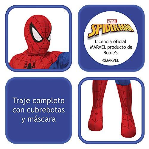 Rubies- Disfraz Spiderman Classic Inf, Color red/blue, L (702072-L)
