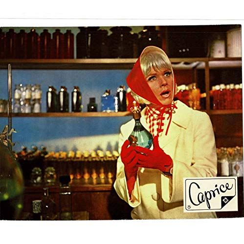 Caprice - Doris Day - Richard Harris - 2 Aushangfotos - 24x30cm (442)