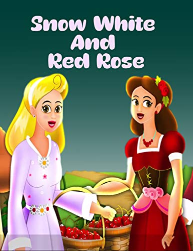 Couverture du livre Story Of Snow White And Red Rose: English Cartoon | Moral Stories For Kids | Classic Stories (English Edition)