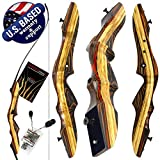 Southwest Archery TigerShark Premium Takedown Recurve Bow USA |Limited TIME Sale| Available with Stringer Tool | Weights 29-60 lb | Left and Right Handed | Assembly Instructions Included LH 35 WS
