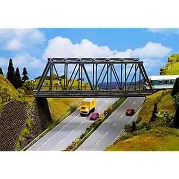 aus METALL gerade Vollmer 42562 H0 Kastenbrücke