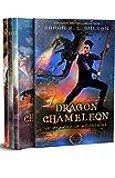 Dragon Chameleon: Episodes 9-12 (Dragon School World Omnibuses Book 7)
