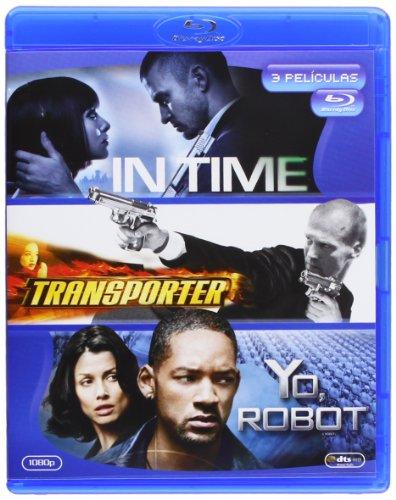 Pack: In Time + Transporter + Yo Robot (Blu-Ray) (Import) (2012) Justin Timb