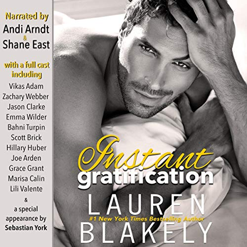 Instant Gratification audiobook cover art