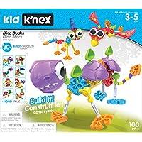 Kid K'NEX Dino Dudes Building Set (Ages 3+ Preschool Creative Toy)