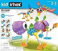 Kid K'NEX 85611 30 Model Dino Dudes Building Set, Kids Craft Set with 100 Pieces, Educational Toys f...