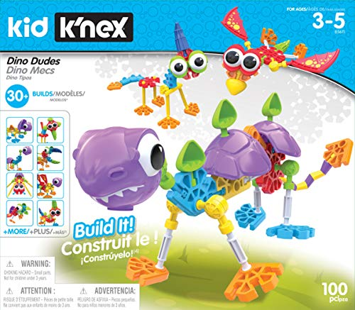 Kid K'NEX Dino Dudes Building ... Reduced from $44.99 to $22.49     Fo…