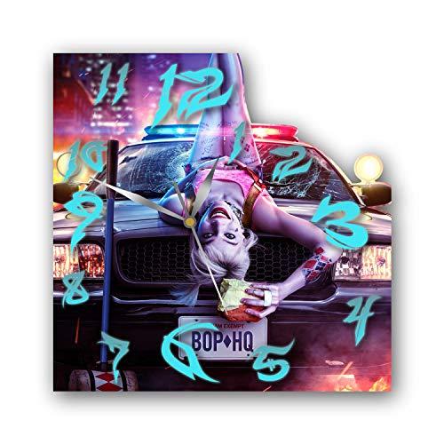 51EF2tFpnHL._SL500_ Harley Quinn Clocks