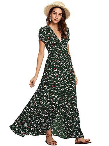 Floral 90s Dress
