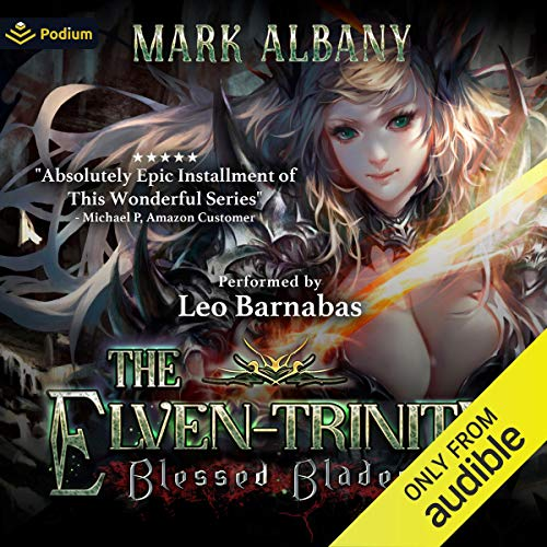 Blessed Blades audiobook cover art