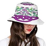 Sombrero de poliéster Cattleya Exotic Flower Strelitzia Blossom Fan Palm Royal Heln Epic Gardening, sombrero de sol para hombres y mujeres