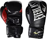 Everlast Boxen Handschuhe - Guantes de Boxeo para Combate, Color Negro, Talla 8