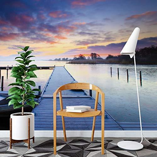 Fotobehang Steiger 384 x 260 cm (bxh) | Hoogwaardige Kwaliteit Vliesbehang | Eenvoudig te Plakken