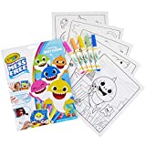 Crayola 757103 Wonder Baby Shark Pages Coloring Book