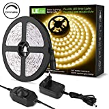LE 5M Dimmbar LED Strip Set, Warmweiß LED Streifen 12V Selbstklebend, Flexibel DIY LED Band, IP20...