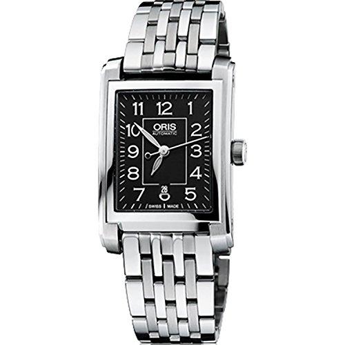 Oris Rectangular Date Ladies Watch 56176564034MB