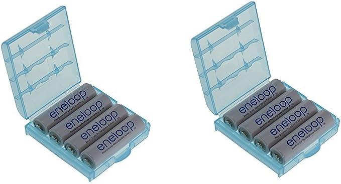 50 opinioni per Panasonic 8 batterie stilo tipo AA, 2000 mAh, BK-3MCCE (min. 1900 mAh), con 2