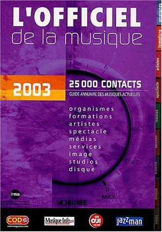 L'officiel de la musique 2003