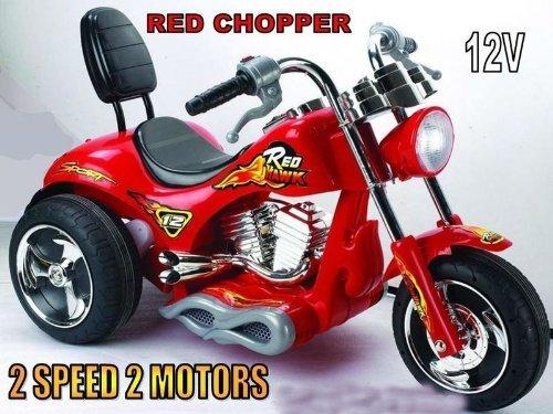 SPEEDY Big 2 Speed Motorcycle 12v Battery Power Kids 3-6 Ride On Wheels Bike