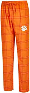 Men's NCAA-Homestretch-Plaid Sleepwear Pajama Pants-With Pockets