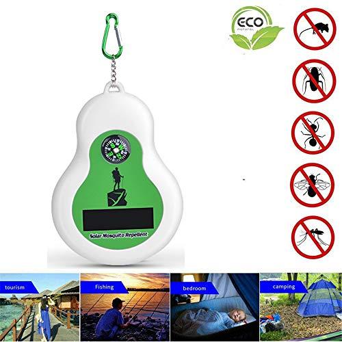 HOODIE Draagbare Ultrasone Pest Repeller Zonne aangedreven muggenwerend voor kakkerlak, spin, mier, muis, bed Bugs en vlooien niet-giftige mens en huisdier veilig