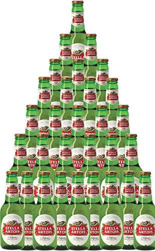 30er-Paket Bier   Bierpaket   Internationales Bier   Großpaket zum Sparpreis (30er-Paket Stella Artois Belgisches Pils/Lager)