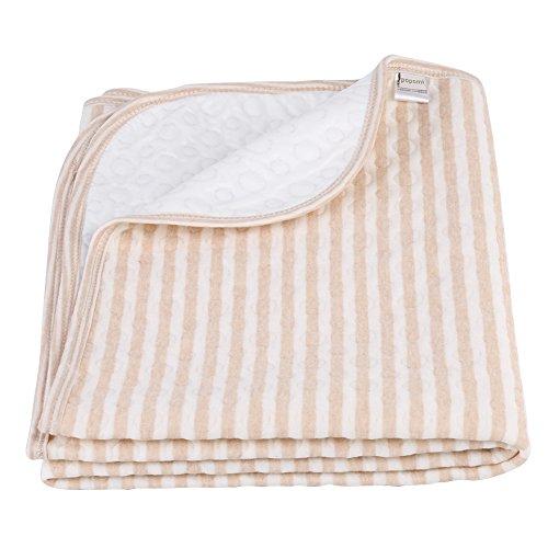 Luierkussen voor baby's, luier voor katoenen urine, luierluier, zacht, wasbaar aankleedkussen voor matten Beddengoed Aankleedkussen voor vier seizoenen(L-70 * 105cm)