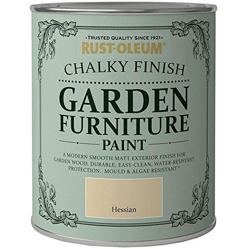 Rust-Oleum Chalky Finish Lack für Gartenmöbel, für eine kalkige Oberfläche, 750ml–in verschiedenen Farben erhältlich